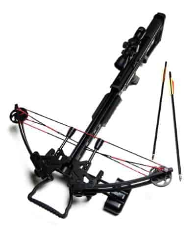 Compound Crossbow with Foot Stirrup