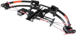 Crossbow split limb design