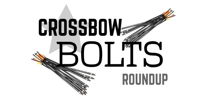best crossbow bolts roundup