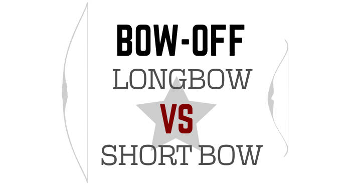 Longbow vs shortbow title image